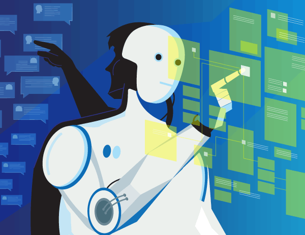 chatbots in the contact center magazine article cover