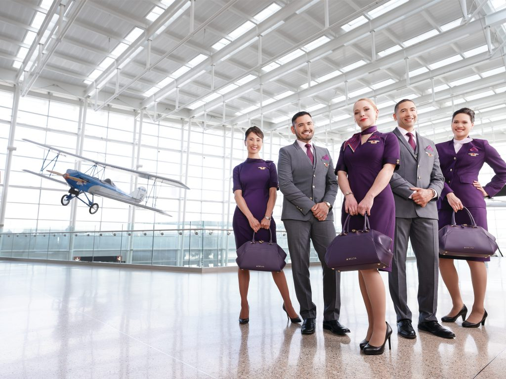 delta air lines flight attendants case study about airline customer experience