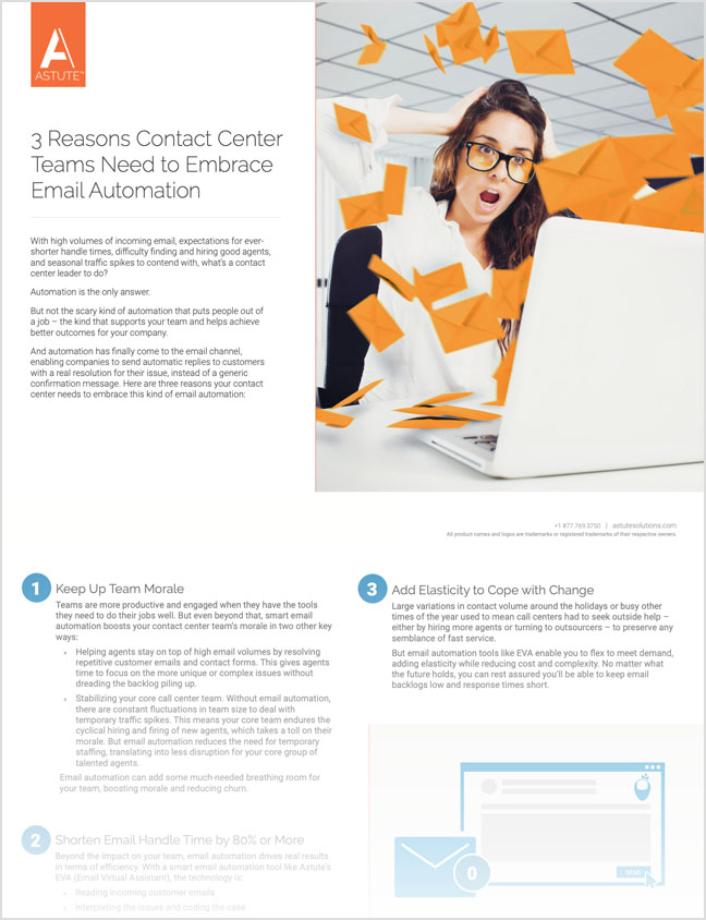 3 Reasons Contact Center Teams Need to Embrace Email Automation thumbnail